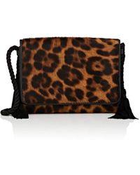 Barneys New York - Calf Hair Strap Wallet - Lyst