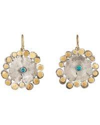 Judy Geib - Flowery Drop Earrings - Lyst