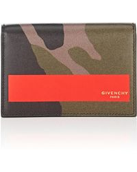 Givenchy - Business Leather Card Case - Lyst