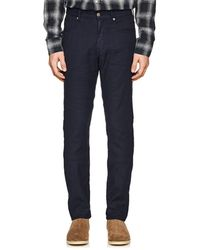 Incotex - Ray 5-pocket Linen-blend Trousers - Lyst