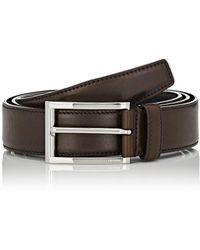 Prada - Grained Leather Belt - Lyst