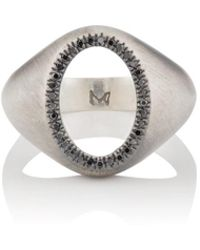 M. Cohen - The Ellipse Diamond Ring - Lyst