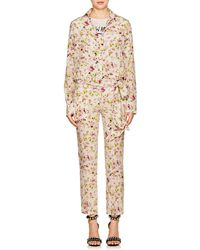 Faith Connexion - Floral Silk Crepe Jumpsuit - Lyst
