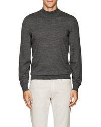 Luciano Barbera - Wool Mock-turtleneck Sweater - Lyst