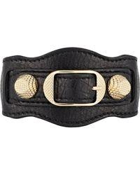 Balenciaga - Arena Giant Bracelet - Lyst