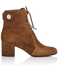 Gianvito Rossi - Finlay Suede Ankle Boots - Lyst