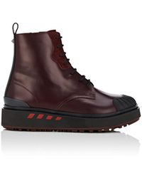 Valentino - Bootboy Leather Boots - Lyst