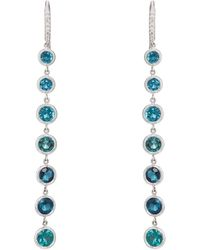 Finn - Tourmaline Cascade Earrings - Lyst