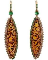 Sharon Khazzam - Miel Drop Earrings - Lyst
