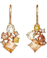 Sharon Khazzam - Women's Norma Drop Earrings - Lyst