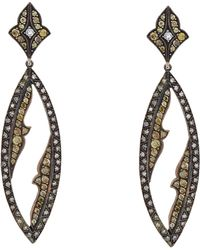 Sevan Biçakci - Yellow & White Diamond Drop Earrings - Lyst