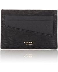 Vianel - Lizard V20 Card Case - Lyst