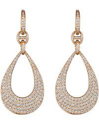 Hoorsenbuhs | Women's Pave Drop Earrings | Lyst