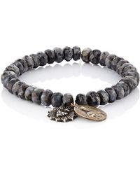 Miracle Icons - Men's Beaded Charm Bracelet - Lyst