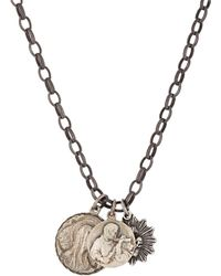 Miracle Icons - Triple-charm Necklace - Lyst