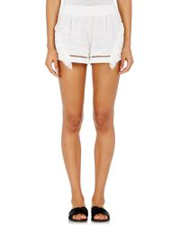 Suboo - Fringed Knit Shorts - Lyst