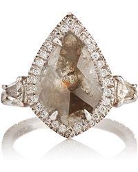 Sharon Khazzam - Diamond Slice Ring - Lyst