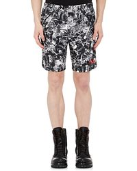 Hood By Air - Abstract-print Shorts - Lyst