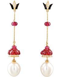 Hanut Singh - Lanterns Drop Earrings - Lyst