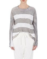 Gilda Midani - Women's Striped Trap Top - Lyst