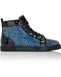 louis vuitton spiked sneakers