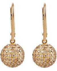 Sidney Garber - Ball-drop Earrings - Lyst
