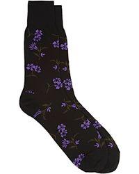 Comme des Garçons - Floral Trouser Socks - Lyst