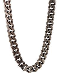 Giles & Brother - Curb Chain With Railroad Spike Clasp - Lyst