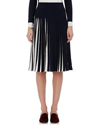 Orley - Fine-gauge Knit Pleated Midi-skirt - Lyst