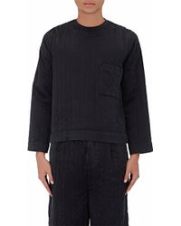 Björn Borg - Quilted Silk Shirt - Lyst