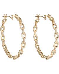Tilda Biehn - Aurora Hoop Earrings - Lyst