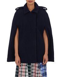 Rhié - Bouclé Trench-coat Cape - Lyst