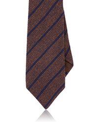 Petronius - Striped Cashmere Necktie - Lyst
