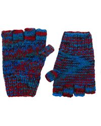 The Elder Statesman - Marled Cashmere Fingerless Gloves - Lyst