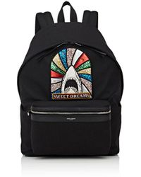 Saint Laurent - Appliquéd Classic Backpack - Lyst