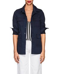 L'Agence - Victoria Cotton Field Jacket - Lyst