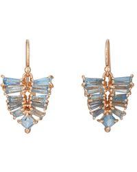 Nak Armstrong - Mosaic Leaf Drop Earrings - Lyst