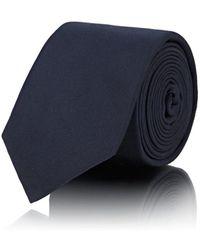 Fendi - Micro-crystal-embellished Silk Faille Necktie - Lyst