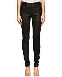 Zero + Maria Cornejo - Stretch Leather Skinny Leggings - Lyst