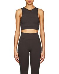 Live The Process - Stretch-jersey Crop Top - Lyst