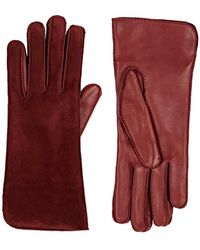 Barneys New York - Suede Gloves - Lyst