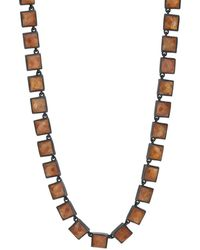 Nak Armstrong - Gold-sheen-moonstone Necklace - Lyst