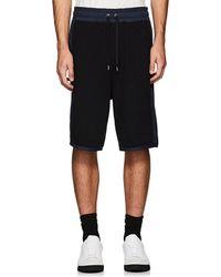 Public School - Kofi Colorblocked Cotton Shorts - Lyst