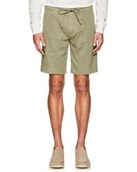 Loro Piana - Linen-blend Drawstring Shorts - Lyst