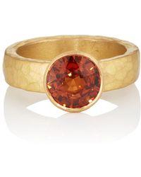 Malcolm Betts - Mandarin Garnet Ring - Lyst