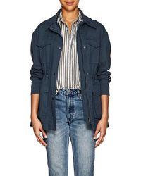 ATM - Striped Cotton Field Jacket - Lyst