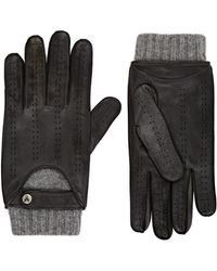 Christophe Fenwick - Le Mans Cashmere-lined Leather Driving Gloves - Lyst
