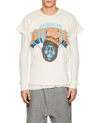 MadeWorn - brooklyn Notorious Distressed Cotton T - Lyst