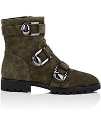 Stella Luna - Suede Buckled Boots 20 - Lyst