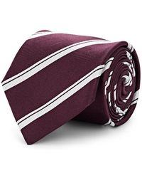 Bigi - Striped Silk Necktie - Lyst